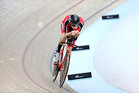 Joshua Van Heyningen competes in the Men U19 Sprint during the 2020 Vantage Elite and U19 Track Cycling National Championships at the Avantidrome in Cambridge, New Zealand on Saturday, 25 January 2020. ( Mandatory Photo Credit: Dianne Manson )