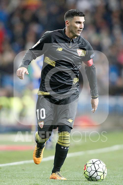 Sevilla's Jose Antonio Reyes during La Liga match. March 20,2016. (ALTERPHOTOS/Acero)