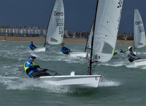 Daragh Sheridan of HYC competing at the 2020 British National Championships in Eastbourne