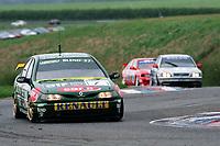 Round 1 of the 1998 British Touring Car Championship. #1 Alain Menu (CHE). Nescafe Blend 37. Renault Laguna.