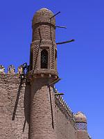 in der Altstadt Ichan Qala, Xiva, Usbekistan, Asien, UNESCO-Weltkulturerbe<br /> historic city Ichan Qala, Chiwa, Uzbekistan, Asia, UNESCO heritage site
