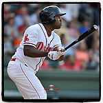 #OTD On This Day, June 9, 2016, Josh Ockimey of the Greenville Drive had one RBI in a game against the Augusta GreenJackets at Fluor Field at the West End in Greenville, South Carolina. The Boston Red Sox offered Ockimey a non-roster invite to 2020 spring training. (Tom Priddy/Four Seam Images) #MiLB #OnThisDay #MissingBaseball #nobaseball #stayathome #minorleagues #minorleaguebaseball #Baseball #SallyLeague #AloneTogether