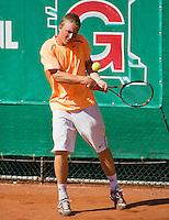 10-08-12, Netherlands, Hillegom, Tennis, NJK, Jelle Sels