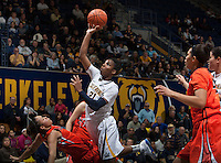 Reshanda Gray of California shoots the ball during the game against Oregon State at Haas Pavilion in Berkeley, California on January 3rd, 2014.  California defeated Oregon State, 72-63.