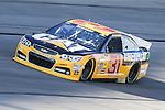 Sprint Cup Series driver Ryan Newman (31) in action during the Nascar Sprint Cup Series Duck Commander 500 practice at Texas Motor Speedway in Fort Worth,Texas.