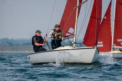 2021 Squib Eastern Champion Emmet Dalton with Kerfuffle recorded his second win in the Autumn League at Howth on Saturday. Photo: Annraoi Blaney
