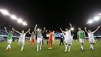 SAN JOSE, CA - JULY 27: San Jose Earthquakes celebrate during a Major League Soccer (MLS) match between the San Jose Earthquakes and the Colorado Rapids on July 27, 2019 at Avaya Stadium in San Jose, California.