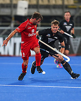 Steve Edwards during the Pro League Hockey match between the Blacksticks Men and Belgium, National Hockey Arena, Auckland, New Zealand, 1st February 2020. Photo: Simon Watts/www.bwmedia.co.nz