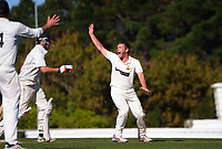 Action from day two of the provincial cricket match between Wellington A and Central Districts A at Kelburn Park in Wellington, New Zealand on Wednesday, 17 March 2021. Photo: Dave Lintott / lintottphoto.co.nz