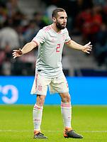 Spain's Daniel Carvajal during international friendly match. March 27,2018.(ALTERPHOTOS/Acero) /NortePhoto.com NORTEPHOTOMEXICO