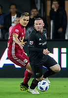Washington, DC. - Wednesday, July 25 2018: The New York Red Bulls defeated D.C. United 1-0 in a MLS match at Audi Filed.