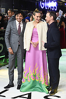 """M. Night Shyamalan, Sarah Paulson and James McAvoy<br /> arriving for the """"Glass"""" premiere at the Curzon Mayfair, London<br /> <br /> ©Ash Knotek  D3470  09/01/2019"""