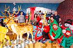 Santa Claus visiting Nano Nagle School, Listowel on Tuesday night last.