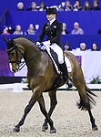 OMAHA, NEBRASKA - APR 1: Marcela Krinke-Susmelj rides Smeyers Molberg during the FEI World Cup Dressage Final II at the CenturyLink Center on April 1, 2017 in Omaha, Nebraska. (Photo by Taylor Pence/Eclipse Sportswire/Getty Images)