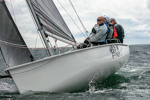 Howth's Dan O'Grady took third place on 30 points sailing Wet & Black