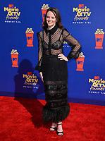 SANTA MONICA, USA. June 16, 2019: Sarah Ramos at the 2019 MTV Movie & TV Awards at Barker Hangar, Santa Monica.<br /> Picture: Paul Smith/Featureflash
