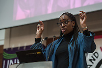 Stand Up To Racism Conference 2017. Held in central London. 22-10-17 Kate Osamor MP.