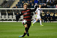 Chester, PA - Friday December 08, 2017: Charlie Wehan The Stanford Cardinal defeated the Akron Zips 2-0 during an NCAA Men's College Cup semifinal match at Talen Energy Stadium.