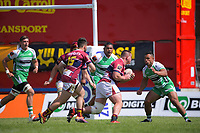 Action from the Mitre 10 Cup Cup rugby match between Manawatu Turbos and Southland Stags at Manfeild Park in Feilding, New Zealand on Saturday, 1 November 2020. Photo: Dave Lintott / lintottphoto.co.nz