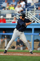 August 22 2008:  First round draft pick Lonnie Chisenhall of the Mahoning Valley Scrappers, Class-A affiliate of the Cleveland Indians, during a game at Dwyer Stadium in Batavia, NY.  Photo by:  Mike Janes/Four Seam Images