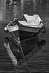 Rowboat (b&w), Balboa, CA