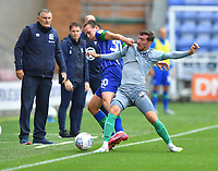 Blackburn Rovers' Joe Rothwell battles with Wigan Athletic's Kieran Dowell<br /> <br /> Photographer Dave Howarth/CameraSport<br /> <br /> The EFL Sky Bet Championship - Wigan Athletic v Blackburn Rovers - Saturday 27th June 2020 - DW Stadium - Wigan<br /> <br /> World Copyright © 2020 CameraSport. All rights reserved. 43 Linden Ave. Countesthorpe. Leicester. England. LE8 5PG - Tel: +44 (0) 116 277 4147 - admin@camerasport.com - www.camerasport.com