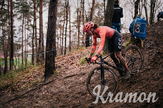 Marianne Vos (NED/CCC)<br /> <br /> Women's race at the X2O Herentals Cross 2020 (BEL)<br /> <br /> ©kramon