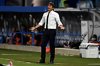 Antonio Conte coach of FC Internazionale reacts during the Serie A football match between SPAL and Internazionale FC at Paolo Mazza stadium in Ferrara ( Italy ), July 16th, 2020. Play resumes behind closed doors following the outbreak of the coronavirus disease. Photo Andrea Staccioli / Insidefoto