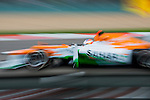 Sahara Force India F1 Team driver Paul Di Resta of England speeds his VJM05 car during the UBS Chinese F1 Grand Prix at Shanghai International circuit April 13, 2012. Photo by Victor Fraile