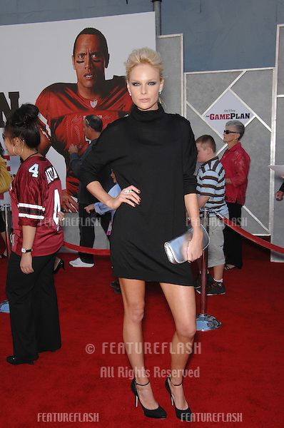 """Kate Nauta at the world premiere of her new movie """"The Game Plan"""" at the El Capitan Theatre, Hollywood..September 23, 2007  Los Angeles, CA.Picture: Paul Smith / Featureflash"""