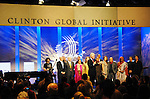 Former President Bill Clinton at the Clinton Global Initiative 2009 in New York City.