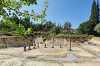 The Ancient Stadium in Nemea, Greece