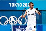 Men's match between New Zealand and Japan, Oi Hockey Stadium, Tokyo, Japan, Tuesday 27 July 2021. <br /> Photo: Alisha Lovrich/HockeyNZ/www.bwmedia.co.nz