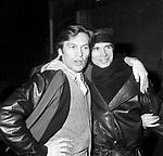 RUDOLF NUREYEV CON HELMUT BERGER ROMA 1983