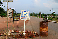 TOGO, Tohoun, border station Togo and Benin,  Benin side