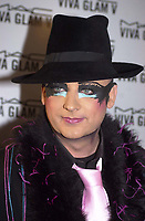 New York City 1-12-2004<br /> Boy George at the party for the<br /> New MAC Viva Glam V Lipstick<br /> at the Ace Gallery in lower manhattan.<br /> Photo by John Roca/PHOTOlink