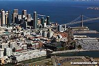 aerial photograph 185 Berry Street Giants stadium San Francisco, California