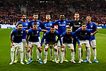Team photo of Athletic Club de Bilbao during the La Liga match between Atletico de Madrid and Athletic Club de Bilbao at Wanda Metropolitano Stadium in Madrid, Spain. October 26, 2019. (ALTERPHOTOS/A. Perez Meca)