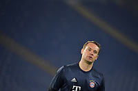 Manuel Neuer of FC Bayern Munchen warms up during the Champions League round of 16 football match between SS Lazio and Bayern Munchen at stadio Olimpico in Rome (Italy), February, 23th, 2021. Photo Andrea Staccioli / Insidefoto