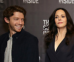 """Will Hochman, Mary-Louise Parker during the Press Preview Photo Call for """"The Sound Inside"""" at Studio 54 on September 20, 2019 in New York City."""