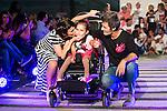 Nerea Garmendia and Jesus Olmedo during the fashion show By Nerea Garmendia of his 2nd Anniversay at COAM in Madrid. June 06. 2016. (ALTERPHOTOS/Borja B.Hojas)