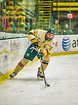 17 December 2013:  University of Vermont Catamount Forward Brendan Bradley, a Freshman from Warminster, PA, in second period action against the Northeastern University Huskies at Gutterson Fieldhouse in Burlington, Vermont. The Huskies shut out the Catamounts 3-0 to end UVM's 5 game winning streak. Mandatory Credit: Ed Wolfstein Photo *** RAW (NEF) Image File Available ***