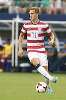 Stuart Holden #11 of the USMNT in action against Honduras on July 24, 2013 at Dallas Cowboys Stadium in Arlington, TX. USMNT won 3-1.