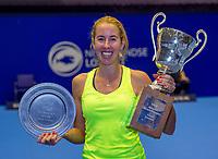 Rotterdam, Netherlands, December 17, 2017, Topsportcentrum, Ned. Loterij NK Tennis, Winner woman'sl  single final : Chayenne Ewijk (NED)  <br /> Photo: Tennisimages/Henk Koster