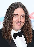 """LOS ANGELES, CA, USA - OCTOBER 11: """"Weird Al"""" Yankovic arrives at the Children's Hospital Los Angeles' Gala Noche De Ninos 2014 held at the L.A. Live Event Deck on October 11, 2014 in Los Angeles, California, United States. (Photo by Xavier Collin/Celebrity Monitor)"""