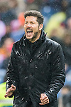 Coach Diego Simeone of Atletico de Madrid reacts during their La Liga match between Atletico de Madrid and Deportivo Leganes at the Vicente Calderón Stadium on 04 February 2017 in Madrid, Spain. Photo by Diego Gonzalez Souto / Power Sport Images