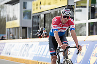 Mathieu Van der Poel (NED/Alpecin-Fenix) loses the finish sprint against Kasper Asgreen<br /> <br /> 105th Ronde van Vlaanderen 2021 (MEN1.UWT)<br /> <br /> 1 day race from Antwerp to Oudenaarde (BEL/264km) <br /> <br /> ©kramon