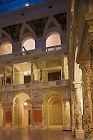 Europe/Autriche/Niederösterreich/Vienne: Cour Intérieure de la Neue Burg qui abrite le Musée d' ethnologie sur la Heldenplatz - Quartier de la Hofburg