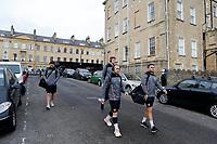 Photo: Richard Lane/Richard Lane Photography. Bath  Rugby v Wasps.  European Rugby Champions Cup. 12/10/2018. Wasps' Dan Robson and Craig Hampson.