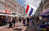 Nederland - Amsterdam - Juli 2020.  De Albert Cuypmarkt.     Foto ANP / Hollandse Hoogte / Berlinda van Dam